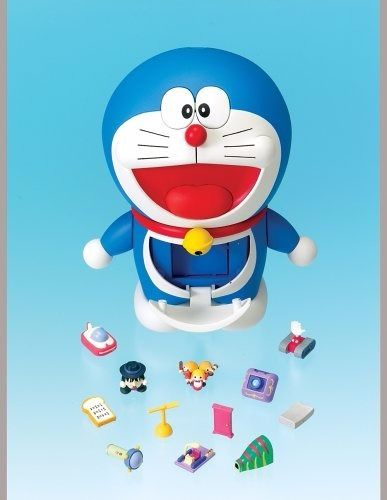 Chogokin Gacha Gacha DORAEMON Action Figure BANDAI NEW from Japan_2