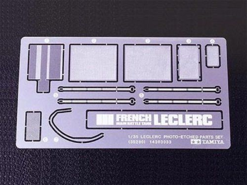 TAMIYA 1/35 Leclerc Series 2 Etching Parts Set Kit NEW from Japan_1
