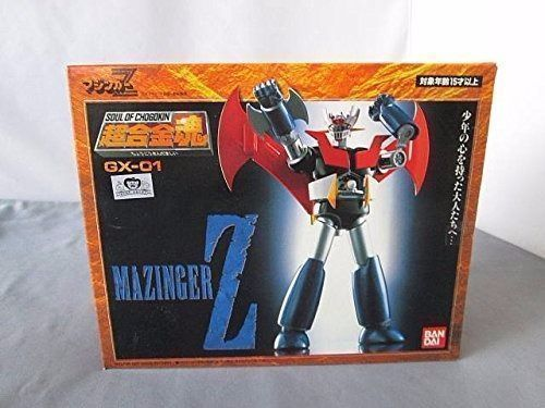 Soul of Chogokin GX-01 MAZINGER Z Action Figure BANDAI TAMASHII NATIONS Japan_1