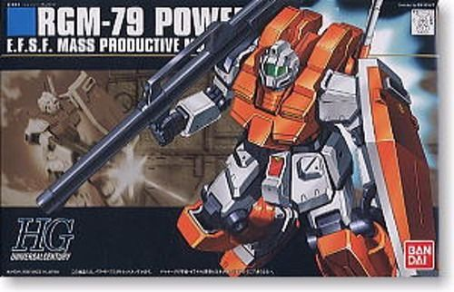 BANDAI HGUC 1/144 RGM-79 POWERED GM Plastic Model Kit Gundam 0083 from Japan_1