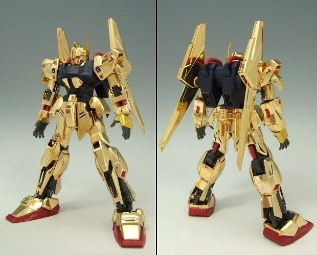 HCM Pro 10-01 MSN-00100 HYAKU-SHIKI Gold Coating Ver 1/200 Figure Z Gundam NEW_2