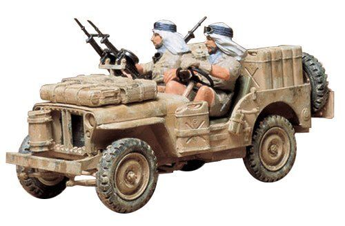 TAMIYA 1/35 British Special Air Service Jeep Model Kit NEW from Japan_1