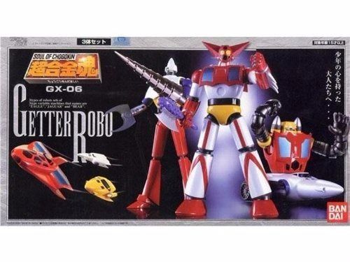 Soul of Chogokin GX-06 GETTER ROBO Action Figure BANDAI TAMASHII NATIONS Japan_1