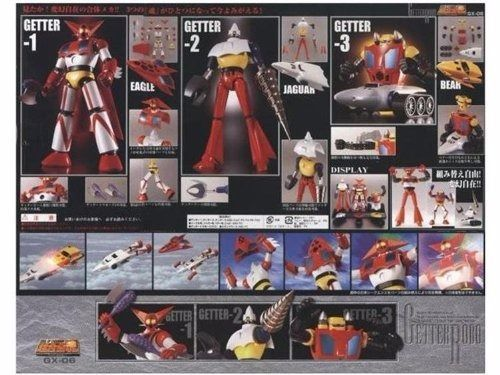 Soul of Chogokin GX-06 GETTER ROBO Action Figure BANDAI TAMASHII NATIONS Japan_2