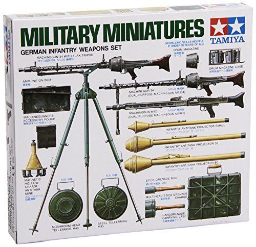 TAMIYA 1/35 German Infantry Weapons Set Model Kit NEW from Japan_2