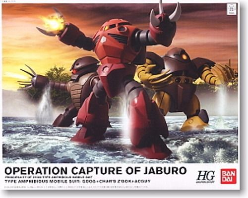 BANDAI HGUC 1/144 OPERATION CAPTURE OF JABURO Set Plastic Model Kit from Japan_1