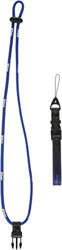 Nikon 2-Way Neck Strap Blue for Compact Digital Camera NEW from Japan F/S_1