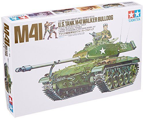 TAMIYA 1/35 U.S. Tank M41 Walker Bulldog Model Kit NEW from Japan_1