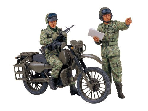 TAMIYA 1/35 J.G.S.D.F Motorcycle Reconnaissance Set Model Kit NEW from Japan_1