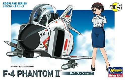 Hasegawa EGGPLANE 05 F-4 Fantom II Model Kit NEW from Japan_2