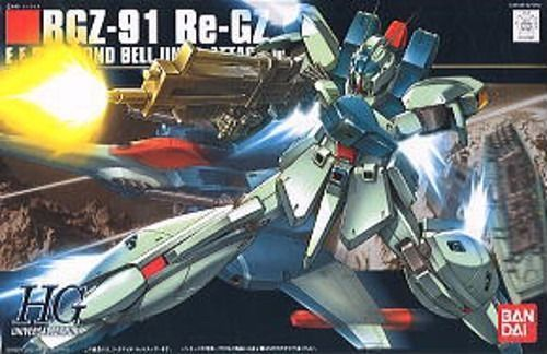 BANDAI HGUC 1/144 RGZ-91 Re-GZ Plastic Model Kit Gundam Char's Counter Attack_1