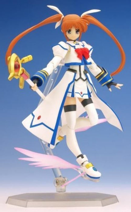 figma 005 Magical Girl Lyrical Nanoha StrikerS Nanoha Barrier Jacket ver. Figure_2