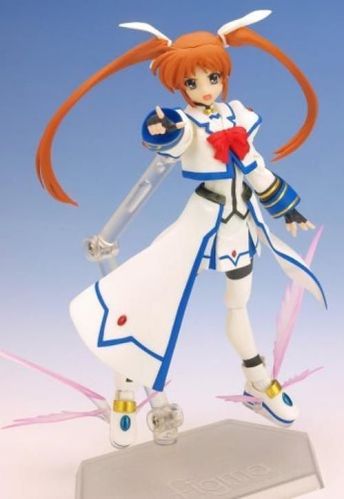 figma 005 Magical Girl Lyrical Nanoha StrikerS Nanoha Barrier Jacket ver. Figure_3