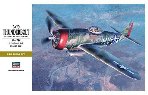 Hasegawa 1/37 P-47D Thunderbolt Model Kit NEW from Japan_2