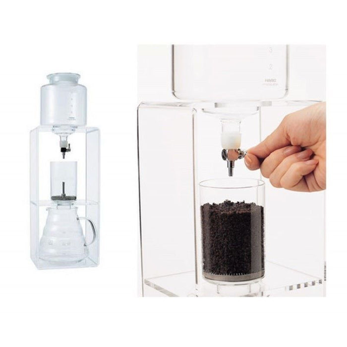 HARIO WDC-6 Coffee Water Dripper Clear 2-6 cup model NEW from Japan F/S_2