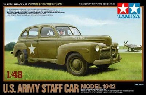 TAMIYA 1/48 U.S. Army Staff Car 1942 Model Kit NEW from Japan_2