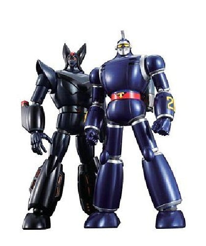 Soul of Chogokin GX-44S TETSUJIN 28 VS BLACK OX Action Figure BANDAI from Japan_1