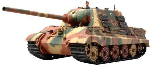 TAMIYA 1/35 German Heavy Tank Destroyer JAGDTIGER Early Production Model Kit NEW_1