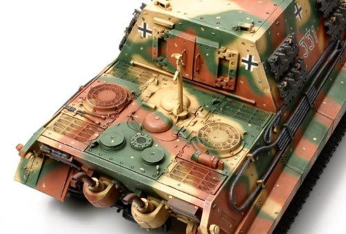 TAMIYA 1/35 German Heavy Tank Destroyer JAGDTIGER Early Production Model Kit NEW_3