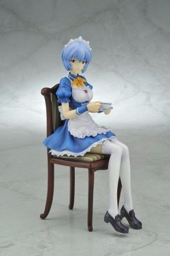 EVANGELION REI AYANAMI Maid Ver 1/7 PVC Figure Kotobukiya NEW from Japan_2