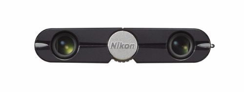 Nikon Binoculars Elegant Compact 4x10 DCF Roof Prism Ebony Black from Japan_5