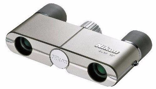 Nikon Binoculars Elegant Compact 4x10 DCF Roof Prism Champagne Gold from Japan_1