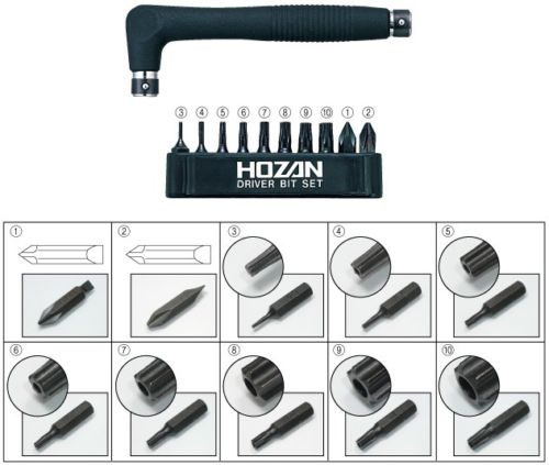 HOZAN TOOL W-81 HEX LOBULAR WRENCH SET from Japan_2