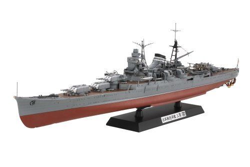 TAMIYA 1/350 Japanese Light Cruiser MIKUMA Model Kit NEW from Japan_1