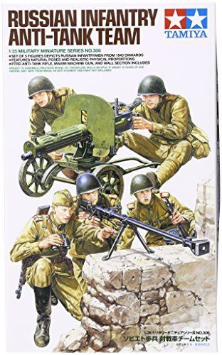 TAMIYA 1/35 Russian Infantry Anti-Tank Team Model Kit NEW from Japan_1