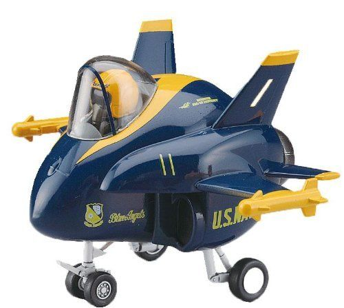 Hasegawa EGGPLANE 15 F/A-18 Blue Angels Model Kit NEW from Japan_1