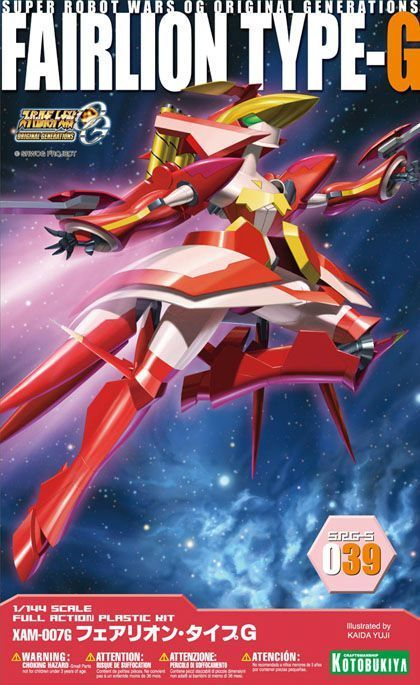 KOTOBUKIYA 1/144 SUPER ROBOT WARS OG SRG-S 039 FAIRLION TYPE-G Model Kit NEW_1