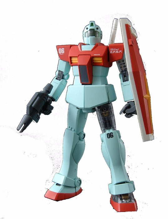 BANDAI MG 1/100 RGM-79 GM Ver 2.0 with Extend Clear Parts Plastic Model Kit_1