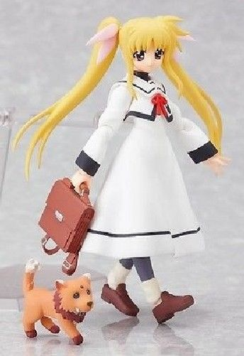 figma 062 Magical Girl Lyrical Nanoha A's Fate Testarossa: School Uniform ver._2