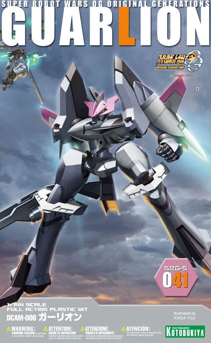 KOTOBUKIYA 1/144 SUPER ROBOT WARS OG SRG-S 041 GUARLION Plastic Model Kit NEW_1