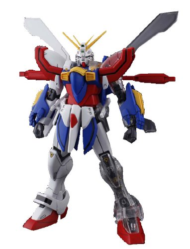 BANDAI MG 1/100 GF13-017NJII GOD GUNDAM with Extend Clear Parts Model Kit_1