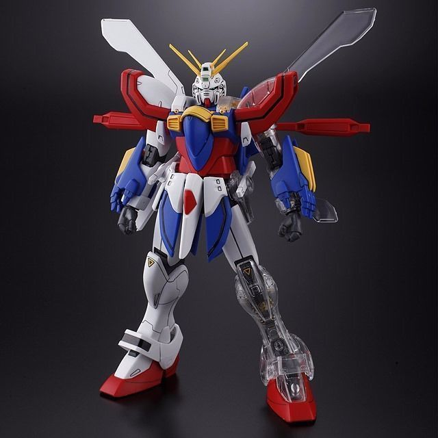 BANDAI MG 1/100 GF13-017NJII GOD GUNDAM with Extend Clear Parts Model Kit_2