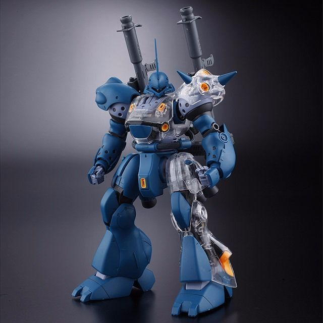 BANDAI MG 1/100 MS-18E KAMPFER with Extend Clear Parts Plastic Model Kit Gundam_2