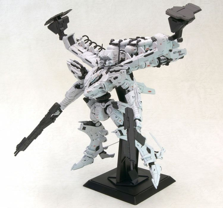 KOTOBUKIYA ARMORED CORE NX09 LINEARK WHITE-GLINT & V.O.B SET MOVIE COLOR Ver Kit_10