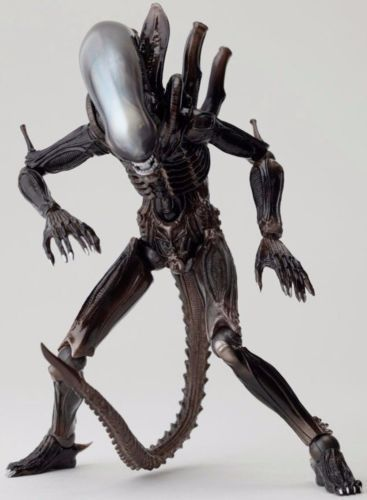 Tokusatsu Revoltech No.001 ALIEN Figure KAIYODO from Japan_3