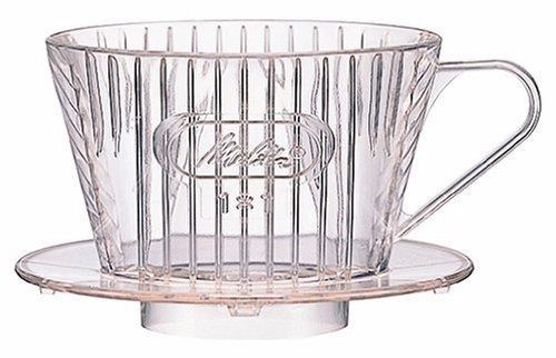 Melitta Coffee Filter SF-M 1x1 Clear 1-2 Cups with measuring spoon from Japan_1