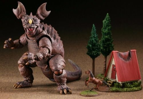 Tokusatsu Revoltech No.004 Frankenstein Conquers the World Baragon Figure JAPAN_5