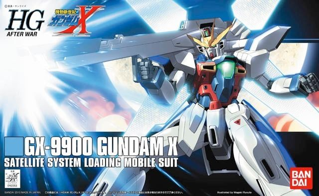 BANDAI HGAW 1/144 GX-9900 GUNDAM X Plastic Model Kit After Wars Gundam X Japan_1
