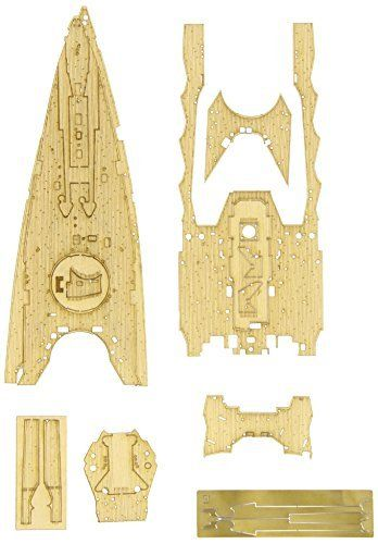 Hasegawa 1/350 Wood Deck for Battleship Nagato 1941 Detail Up Parts NEW Japan_1