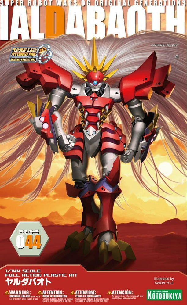 KOTOBUKIYA 1/144 SUPER ROBOT WARS OG SRG-S 044 IALDABAOTH Plastic Model Kit NEW_1