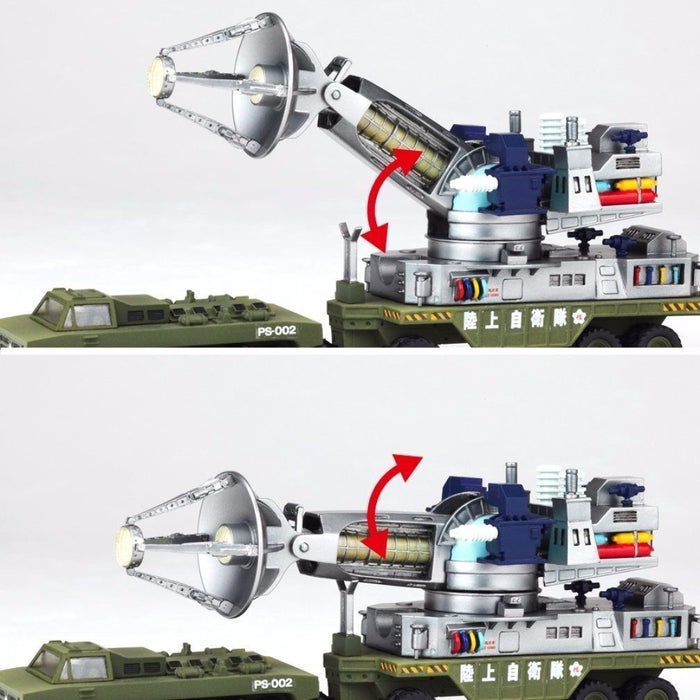 Tokusatsu Revoltech No.015 The War of the Gargantuas Maser Cannons KAIYODO_3