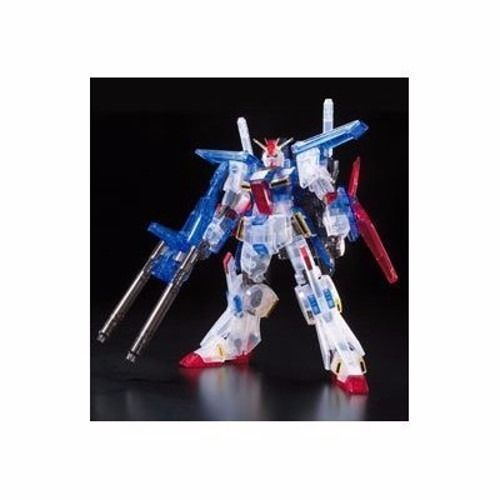 BANDAI HGUC 1/144 MSZ-010 ZZ GUNDAM CLEAR COLOR Ver Model Kit Gundam EXPO_2