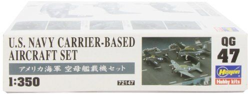 Hasegawa 1/350 U.S. Navy Carrier-Based Aircraft Set Model Kit NEW from Japan_3