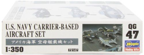 Hasegawa 1/350 U.S. Navy Carrier-Based Aircraft Set Model Kit NEW from Japan_5