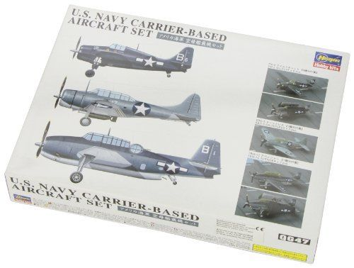 Hasegawa 1/350 U.S. Navy Carrier-Based Aircraft Set Model Kit NEW from Japan_8