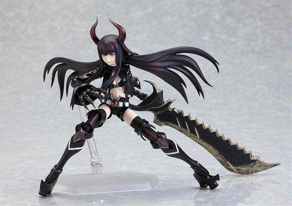 figma SP-017 Black Rock Shooter Black Gold Saw Figure Max Factory NEW from Japan_5